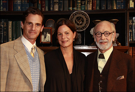 Mark H. Dold, Marcia Gay Harden and Martin Rayner