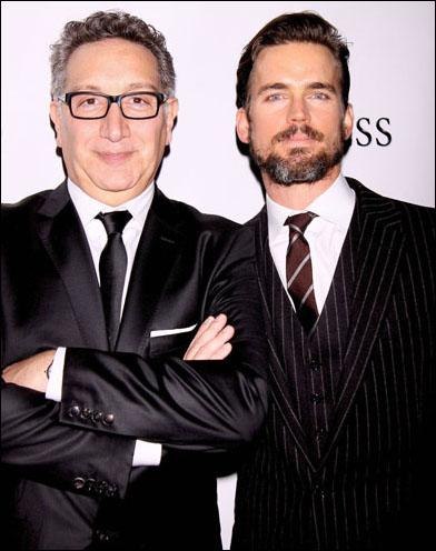 Moises Kaufman and Matt Bomer