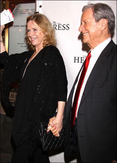 Liv Ullman and Donald Saunders