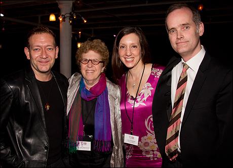 Michael John LaChiusa, Annette Niemtzow, Lori Fineman and Jack Cummings III