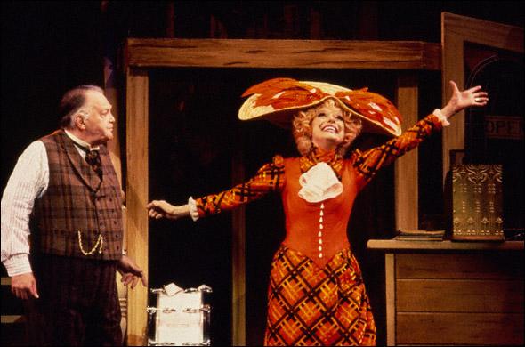 Carol Channing and Jay Garner