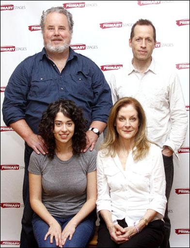 Adam LeFevre, Tim Hopper, Adina Verson and Hallie Foote