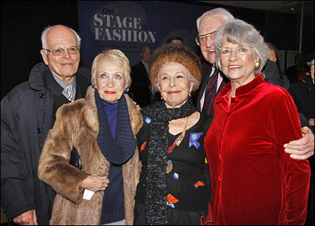 Dickie Moore, Jane Powell, Marge Champion, Lewis B. Cullman and Louise Hirschfeld Cullman