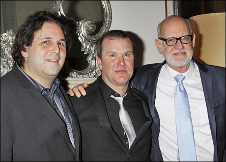 David Babani, Douglas Hodge and Frank Oz