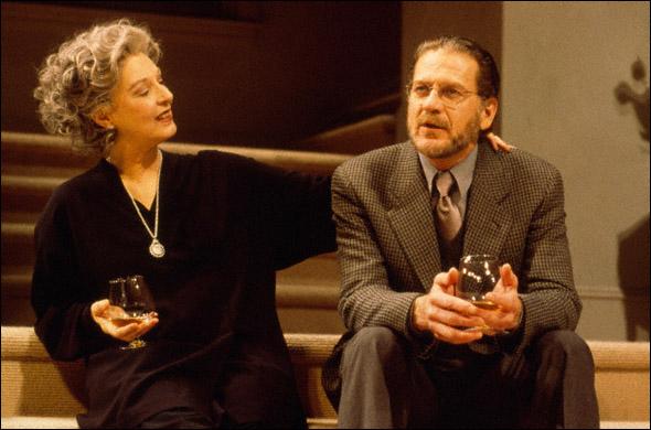 Jane Alexander and Robert Foxworth