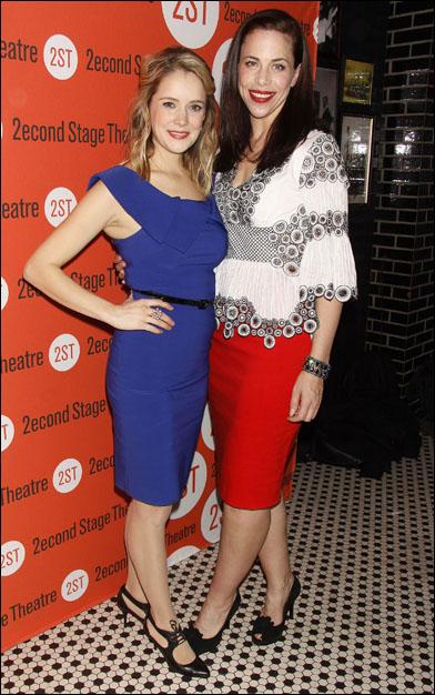 Marnie Schulenberg and Jennifer Regan