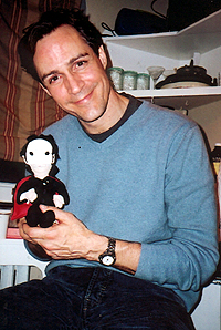 Howard McGillin and <i>Phantom</i> friend.