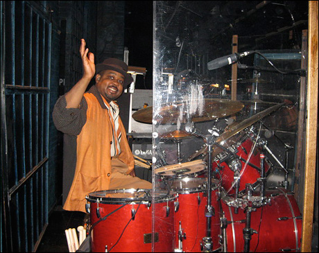 Clayton Craddock on drums. The heartbeat of Memphis.