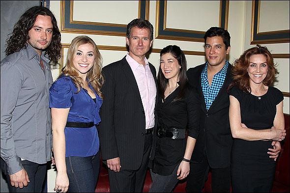 Constantine Maroulis, Kristin Piacentile, Paul Jackel, Lynn Craig, Nicholas Rodriguez and Andrea McArdle