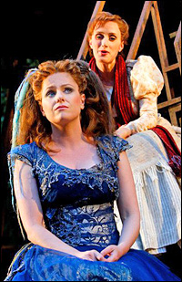 Helen Dallimore and Jenna Russell in the Regent's Park Open Air Theatre production