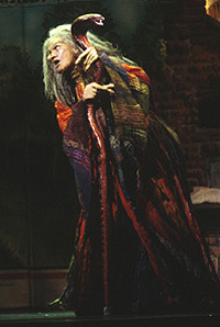 Vanessa Williams as the Witch in <I>Into the Woods</I>.