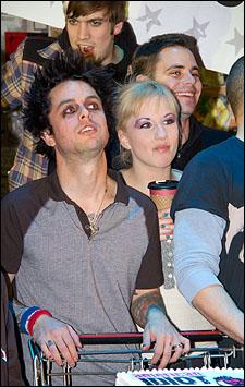 Billie Joe Armstrong and Jeanna de Waal