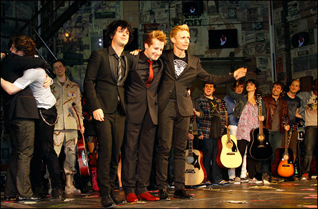 Green Day with the company of American Idiot