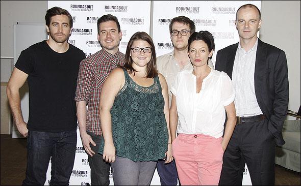 Jake Gyllenhaal, Michael Longhurst, Annie Funke, Nick Payne, Michelle Gomez and Brian F. O'Byrne