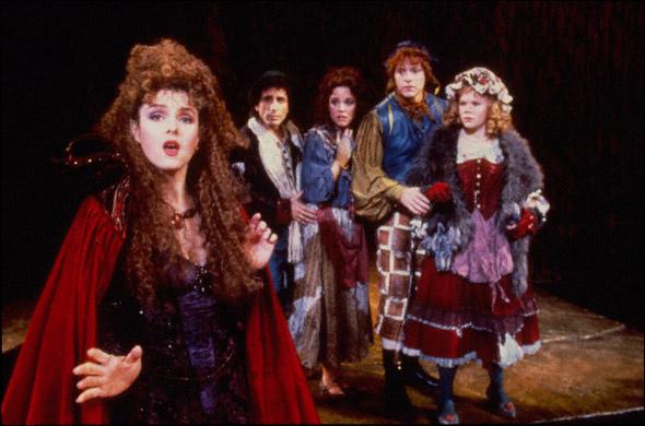 Bernadette Peters, Chip Zien, Kim Crosby, Ben Wright, and Danielle Ferland