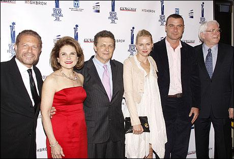 Mike Burstyn, Tovah Feldshuh, Meir Fenigstein, Naomi Watts, Liev Schreiber and Phil Donahue