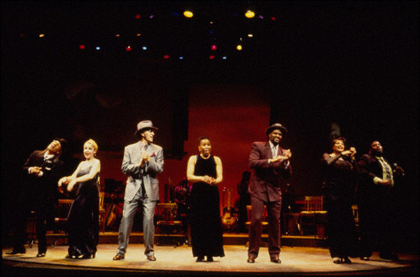 """Mississippi"" Charles Bevel, Carter Calvert, Dan Wheetman, Gretha Boston, Gregory Porter, Eloise Laws, and Ron Taylor"