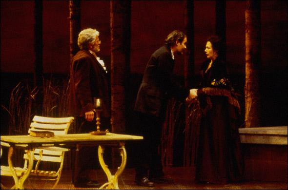 Robert Foxworth, Kevin Kline, and Jayne Atkinson