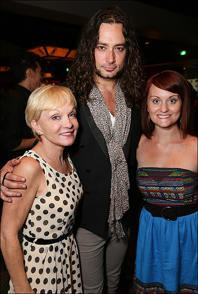 Cathy Rigby, Constantine Maroulis and Theresa Flemming