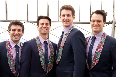 Jarrod Spector, Dominic Nolfi, Ryan Jesse and Matt Bogart