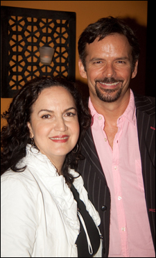 Olga Merediz and Rick Negron