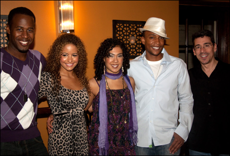 Marcus Paul James, Alejandra Reyes, Rosie Lani Fiedelman, Willis White and Tony Chiroldes