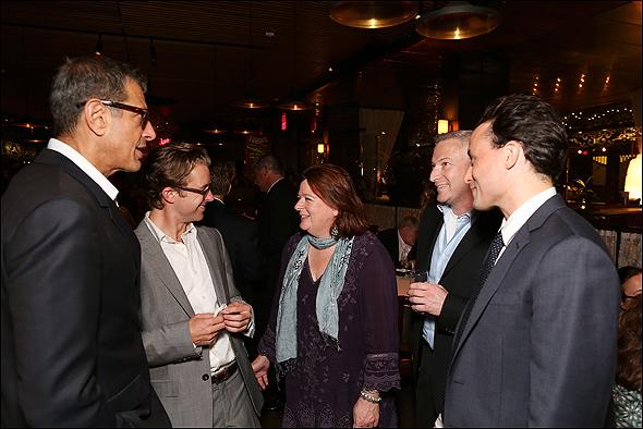 Jeff Goldblum, Lucas Near-Verbrugghe, Theresa Rebeck, Jeffrey Finn and Greg Keller