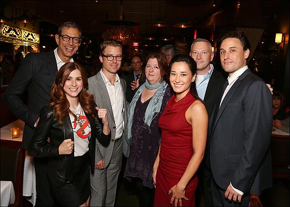 Jeff Goldblum, Aya Cash, Lucas Near-Verbrugghe, Theresa Rebeck, Jeffrey Finn and Greg Keller
