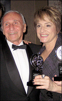 Arthur Laurents and Patti LuPone