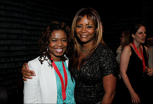 Katori Hall and Tonya Pinkins