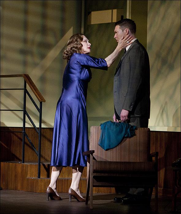 Stefanie Powers and Brian Hutchison