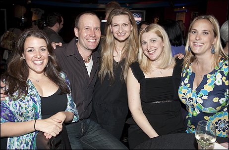 Jac Huberman, Shawn Pennington, Sara Wordsworth, Suzanne Chadwick and Jennifer Caprio