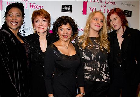 Fredi Walker-Brown, Donna McKechnie, Sonia Manzano, Annie Starke and Rumer Willis