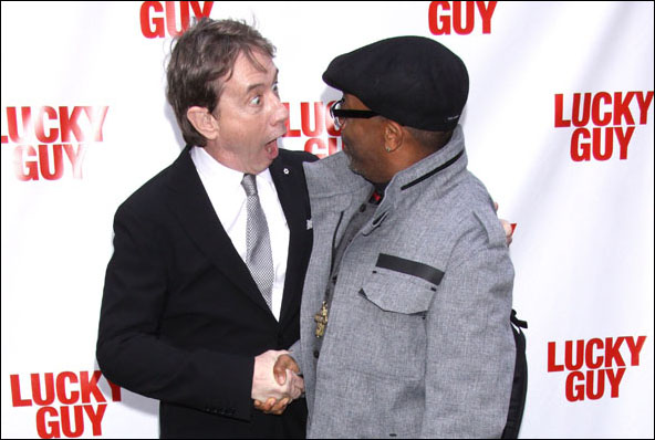 Martin Short and Spike Lee