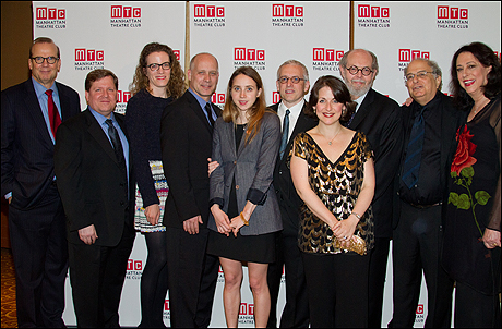 Barry Grove, David Lindsay-Abaire, Liz Flahive, Eric Simonson, Zoe Kazan, Donald Margulies, Mandy Greenfield, Jeffrey Hatcher, Alfred Uhry and Lynne Meadow