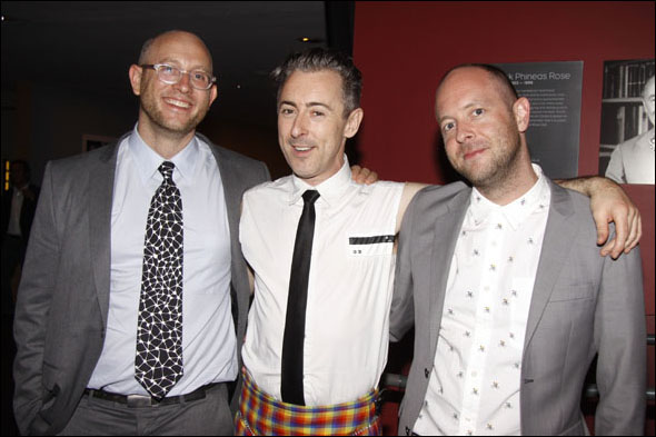 Andrew Goldberg, Alan Cumming and John Tiffany