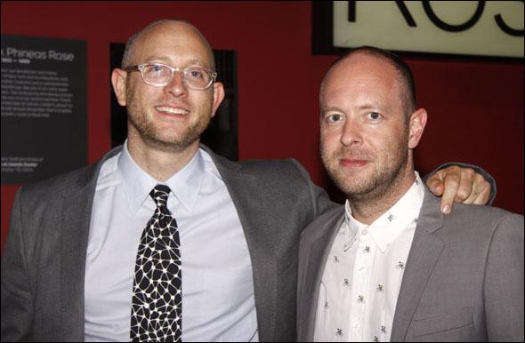 Andrew Goldberg and John Tiffany