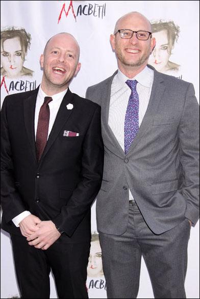 John Tiffany and Andrew Goldberg