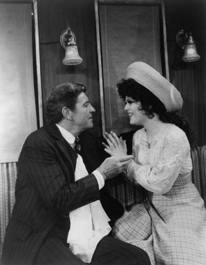 Robert Preston and Bernadette Peters in Mack & Mabel, 1974