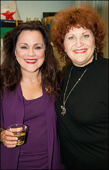 Becky Barta and Barbara Tirrell