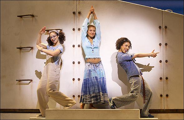 Traci Victoria, Christy Altomare and Halle Morse