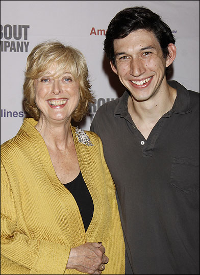 Maria Aitken and Adam Driver