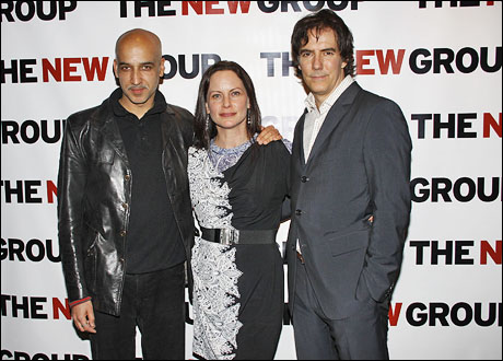 Alok Tewari, Cindy Katz and Adam Trese