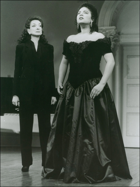 Dixie Carter and Alaine Rodin-Lo
