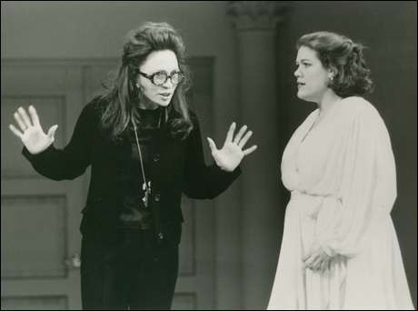 Faye Dunaway and Melinda Klump