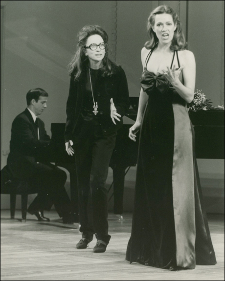 Gary Green, Faye Dunaway and Suzan Hanson