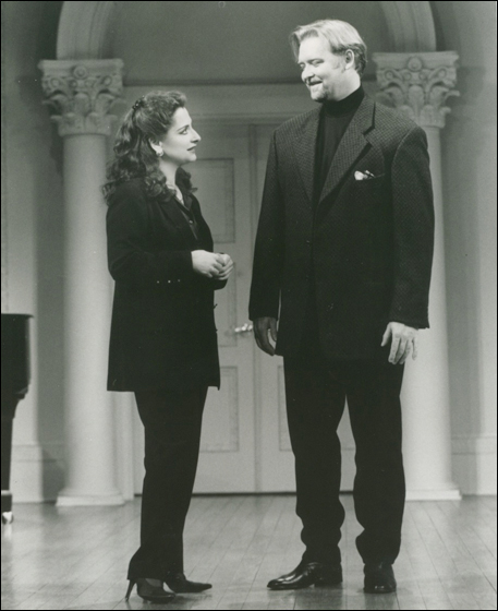Patti LuPone and Jay Hunter Morris