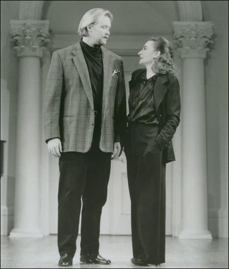 Jay Hunter Morris and Zoe Caldwell