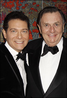 Michael Feinstein and Barry Humphries