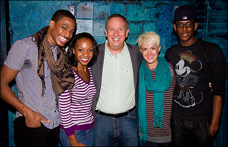 Robert Hartwell, Candice Monet McCall, Mike Gallagher, Betsy Struxness and Darius Barnes